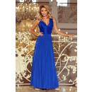 211-3 LEA long sleeveless dress