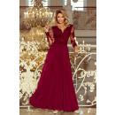 groothandel Kleding & Fashion: 213-2 ARATI lange jurk met geborduurd decolleté