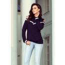 Großhandel Pullover & Sweatshirts: 223-1 Bequemes Sweatshirt mit nackten Schultern