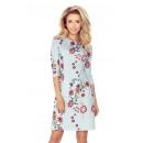 ingrosso Ingrosso Abbigliamento & Accessori: 38-23 abito con zip + GRIGIO fiori ricamati