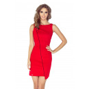 MM 004-4  asymmetrisches  Kleid mit ...