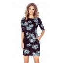 ingrosso Ingrosso Abbigliamento & Accessori: MM 007-1 Dress  Sport - GRANDI fiori bianchi
