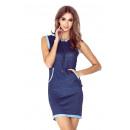 grossiste Vetement et accessoires: robe MM 009-3 avec  une capuche - KANGURKA - court