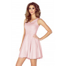 wholesale Food & Beverage: MM 014-5 Dress  with a circle - neckline heart