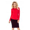 grossiste Chemises et chemisiers: MM 016-1 veste chemise - ROUGE