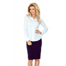 wholesale Shirts & Blouses: MM 016-4 Shirt with baskette - WHITE