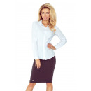 wholesale Shirts & Blouses: MM 017-2 Straight shirt with GUYS - WHITE