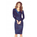 MM 020-1 Kleid mit V-Ausschnitt