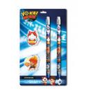 gardiens Yo-Kai papeterie, jeu de l'école, 4 p