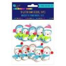 Schaum, Klebstoff,  Weihnachten 3D-Formen, pingvi