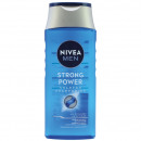 wholesale Drugstore & Beauty: Nivea Shampoo 250ml For Men Strong Power