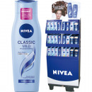 Nivea Shampoo 250ml 240pcs Display 12 times assort