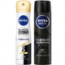 wholesale Drugstore & Beauty: Nivea Deospray 150ml Mixer Box, 3-way sortie