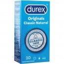 grossiste Accessoires erotiques: Préservatifs Durex 10 pièces Classic Natural