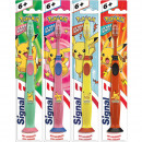 Signal toothbrush Junior 7-9 years with suction cu
