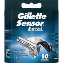 Gillette Sensor Excel 10 blades