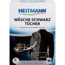 Großhandel Wäsche: Heitmann Wäsche-Schwarz Tücher 10er