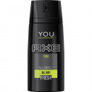 groothandel Drogisterij & Cosmetica: Axe Deospray SALE 150ml YOU All Day Fresh