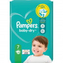 Pampers Baby Dry maat 7 Extra Large (15 + kg) 23 s