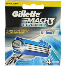Gillette Mach3 Turbo 4 blades