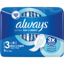 wholesale Toiletries: Always Ultra Thin Binding Night 9er