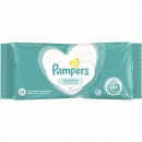 Lingettes humides Pampers Sensitive 52