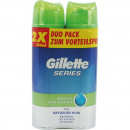 wholesale Drugstore & Beauty: Gillette Series shaving gel 2x200ml sensitive ...