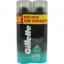 Gillette shaving gel 2x200ml sensitive skin