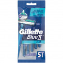 Gillette Blue II Plus 5er