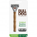 Wilkinson Bulldog razor with bamboo handle