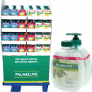 Palmolive liquid soap + NF 2x300ml in 72er displ