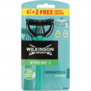 Wilkinson Razor Extreme3 ​​Sensitive 4 + 4