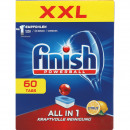 Finish All-in-1 60 tabs lemon