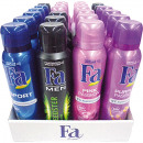 wholesale Drugstore & Beauty: Fa Deospray 150ml 24-pack Mixing Carton 6- times a