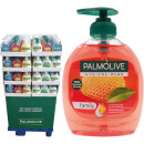 Palmolive flytande tvål 300 ml i en 144-mix displa