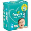 Pampers Baba Dry pelenkák méret 5 Junior (11-23kg)