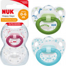 Tamaño NUK Happy Days Chupete 1 (0-6 meses)