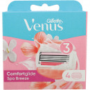 Gillette Women Venus Breeze SPA 4 blades