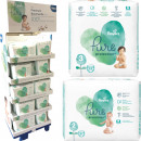 Pampers Pure Protection Tragepack im 30er Mixdispl