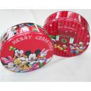 Disney Christmas doboz kerek, 19,7x6,5cm