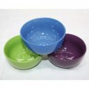 Cereal bowl 500ml, 13x7cm colors assorted