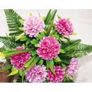 Bouquet mérete 34x30cm m 5cm gramm virágfejeket