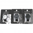 Wirst watch Men 3- times assorted Dark