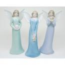 Porcelain angel 15x7x4cm 3- times assorted
