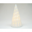 wholesale Lampes: Porcelain LED tree 11.5x6cm white
