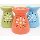 wholesale Fragrance Lamps: Incense lamp XL 9,5x8,5cm in trendy assorted
