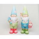 wholesale Garden Decoration & Illumination: Garden Gnome XXL 21x9x6cm 2 times assorted