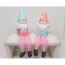 Kantensitzer Garden Gnome 21x6cm 2 szer szortírozo