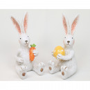 LUXURY rabbit 12x7x4,5cm made of synthetic resin
