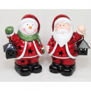 LED Santa or snowman XL 14x10x6cm